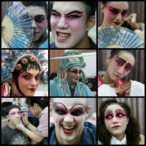 (photo credit to Ms. Jessica Miller) The Many Faces of the Chinese Opera: 2013 TUSA Ambassador Program Style! Coming to an operahouse near you!